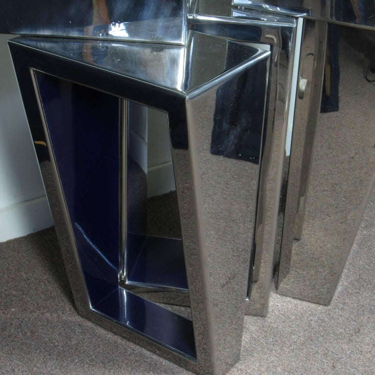 American Large Beverly Pepper Steel Sculpture, circa 1968 For Sale