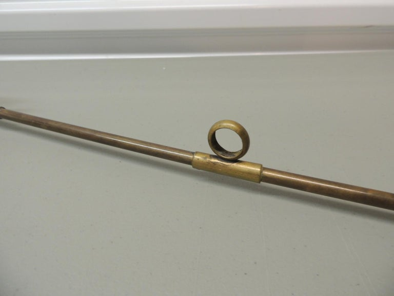 Victorian Monumental Brass Candle Snuffer For Sale