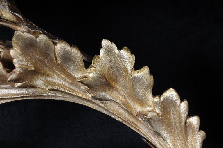 Monumental Bronze Applique, Sconce Louis XVI Style For Sale 7