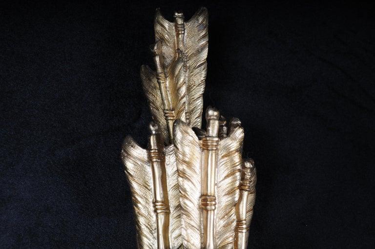 Monumental Bronze Applique, Sconce Louis XVI Style For Sale 10