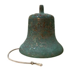 Monumental Bronze Bell Engraved Arnhem