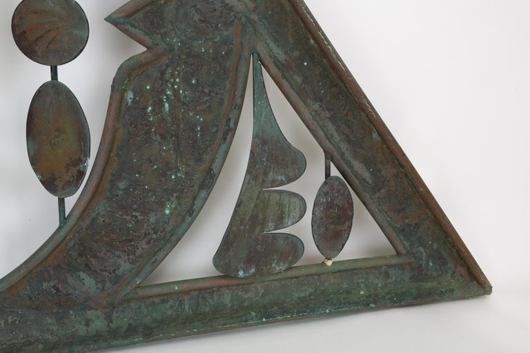 Monumental Bronze Kinetic Sculpture In Good Condition For Sale In Los Angeles, CA