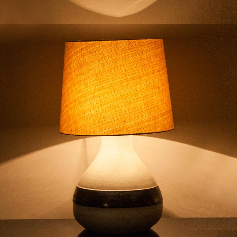 Monumental Bruno Gambone Stoneware Table Lamp, Italy, 1980s For Sale 3