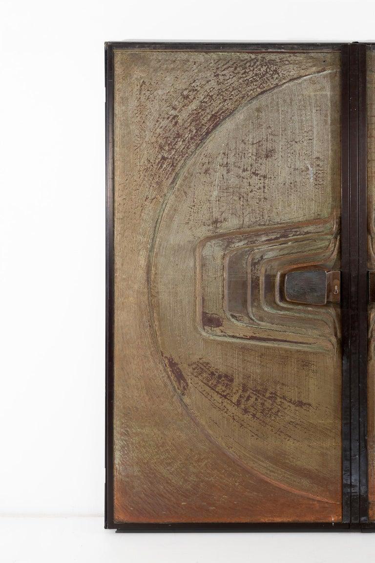 Monumental Brutalist Exterior Doors from Craig Ellwood House For Sale 1
