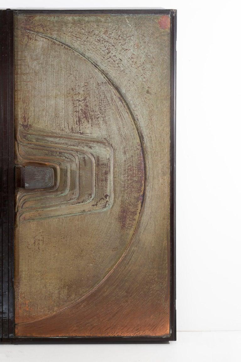 Monumental Brutalist Exterior Doors from Craig Ellwood House For Sale 2