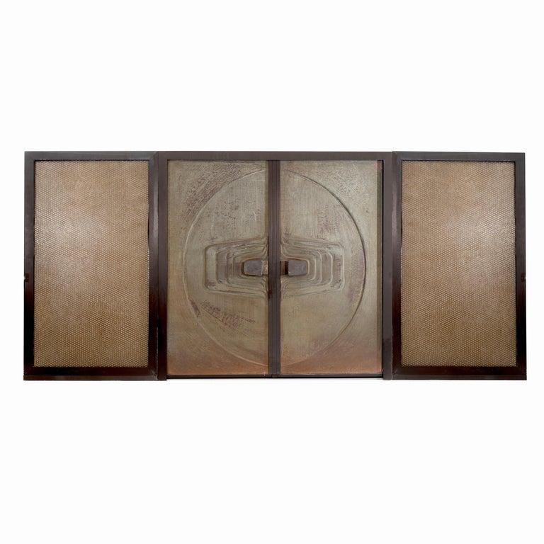 Monumental Brutalist Exterior Doors from Craig Ellwood House For Sale