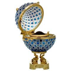 Monumental Caviar Bowl by Cristal Benito