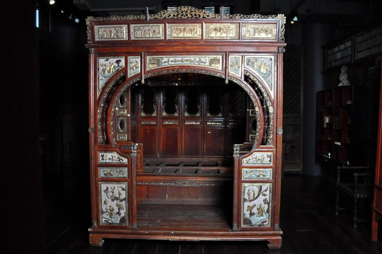 Monumental Chinese Wedding Bed 5