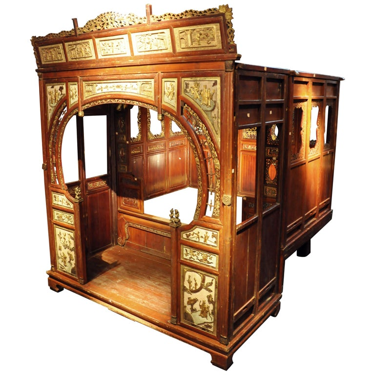 Monumental Chinese Wedding Bed