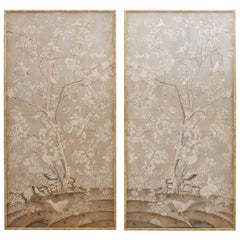Monumental Chinoiserie Wallpaper Panels by Dennis and Leen