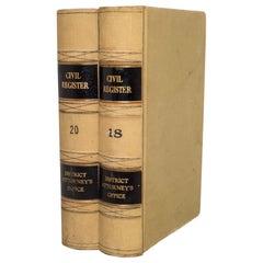 Monumental Civil Register Books, circa 1960
