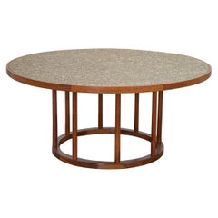 Monumental Coin Tile Dining Table