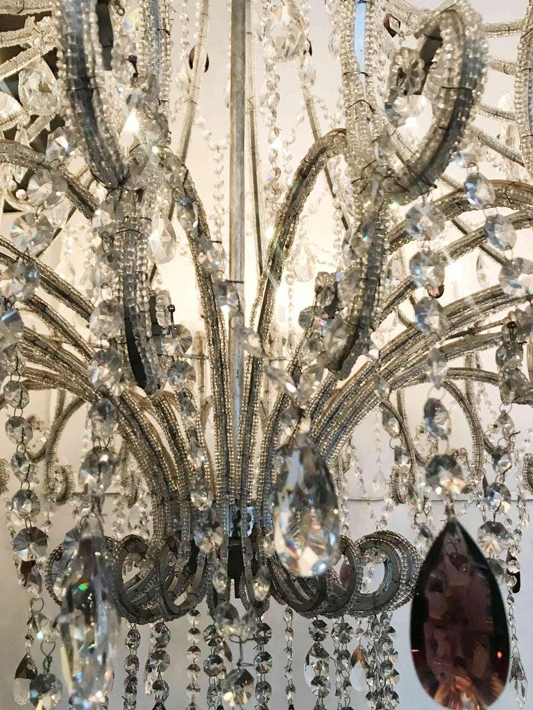 Monumental Crystal Chandelier For Sale 2