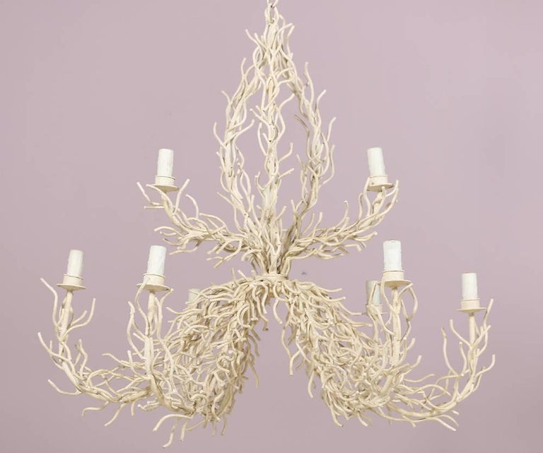 Monumental faux coral chandelier for sale at 1stdibs monumental faux coral chandelier for sale 3 aloadofball Gallery