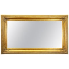 Monumental French Gold Wood Artwork or Mirror Frame Picture Floor Wall