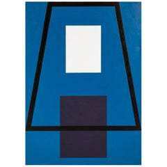Monumental Geometric Abstract by Andrew Spence