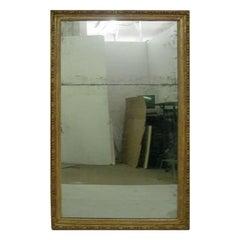 Monumental Giltwood Mirror Original Plates