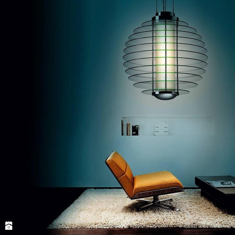 Mid-Century Modern Monumental Gio Ponti 0024 Chandelier for Fontana Arte For Sale