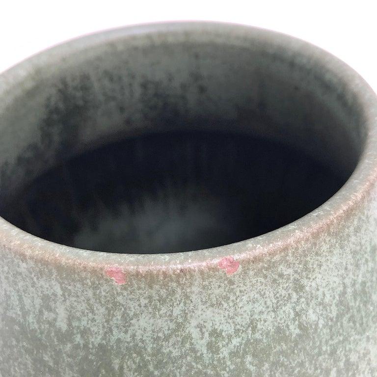 Monumental Hameln Stoneware Floor Vase, Bauhaus, Delius For Sale 3