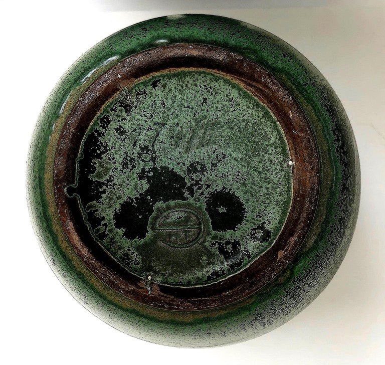 Monumental Hameln Stoneware Floor Vase, Bauhaus, Delius For Sale 4