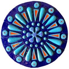Monumental Hans Sumpf Ceramic Medallion