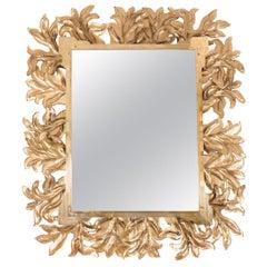 Monumental Illuminated Rectangular Mirror
