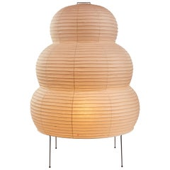 Monumental Isamu Noguchi Akari 25N Floor Lamp