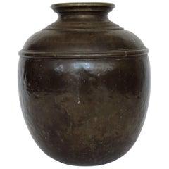 Monumental Italian Bronze Vase, Italy, 1800
