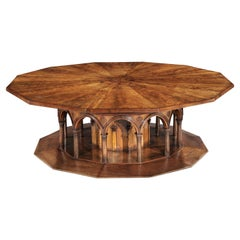 Monumental Italian Mahogany Centre Table