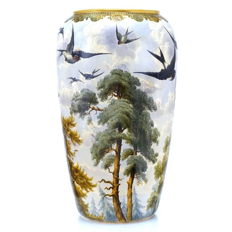 Aesthetic Movement Monumental Japanese Aesthetic Vase For Sale