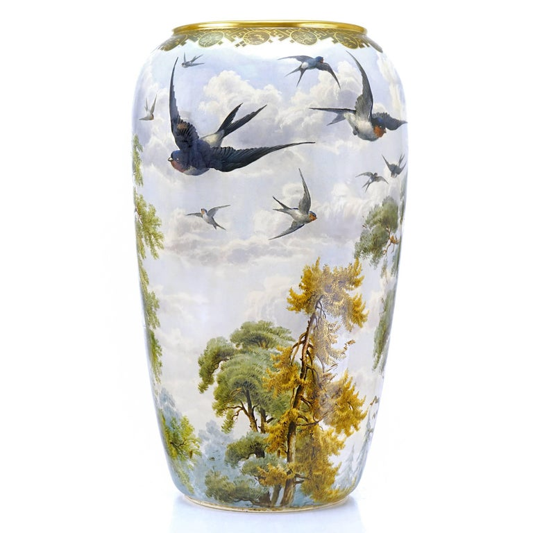 Monumental Japanese Aesthetic Vase In Excellent Condition For Sale In Litchfield, CT