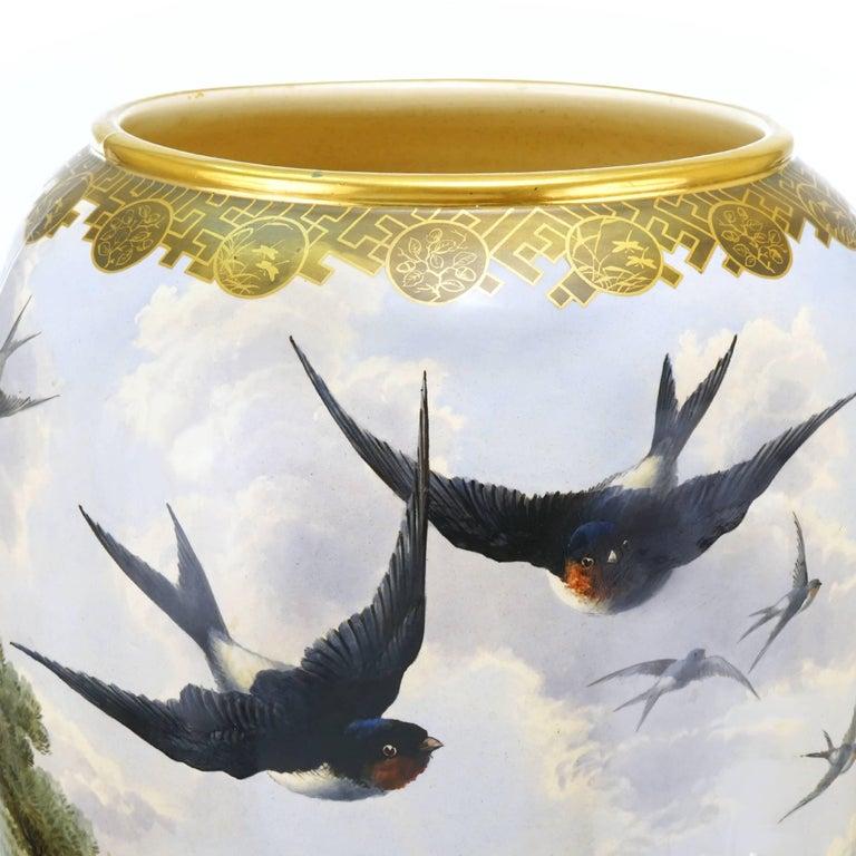 Monumental Japanese Aesthetic Vase For Sale 1