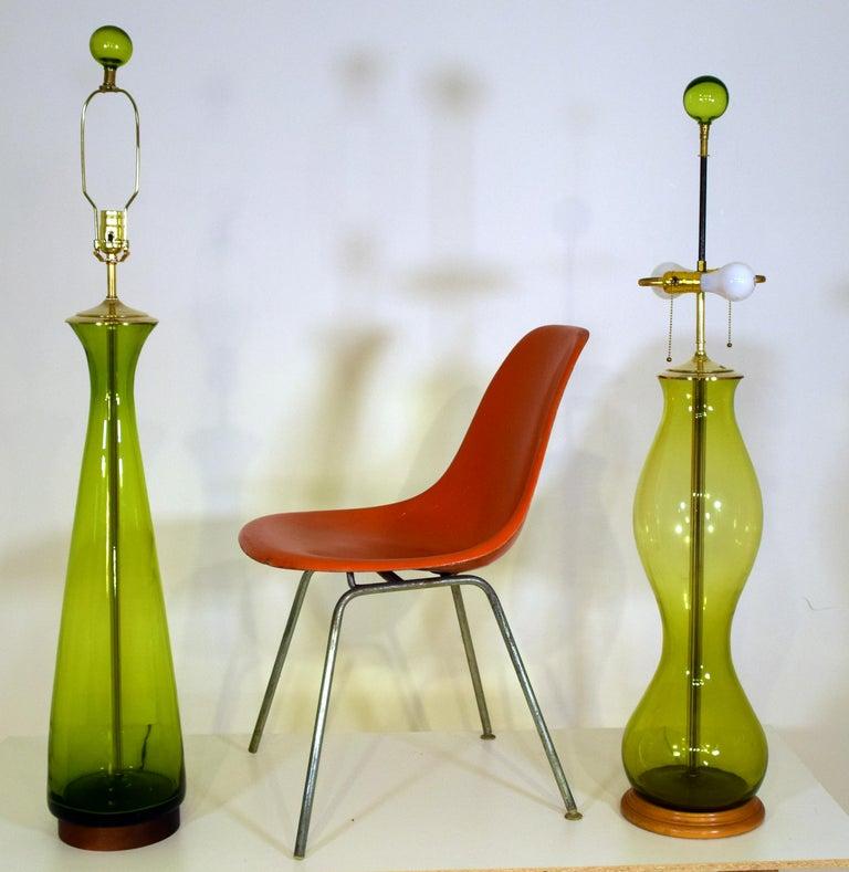 1955, Winslow Anderson, Blenko, Milton, WV USA art glass. Model LP-19. 46