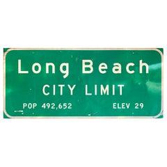 Monumental Long Beach Freeway Sign