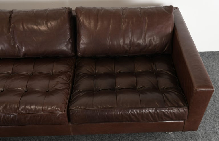 Monumental Metropolis Sofa by Ralph Lauren, 1990s For Sale 6