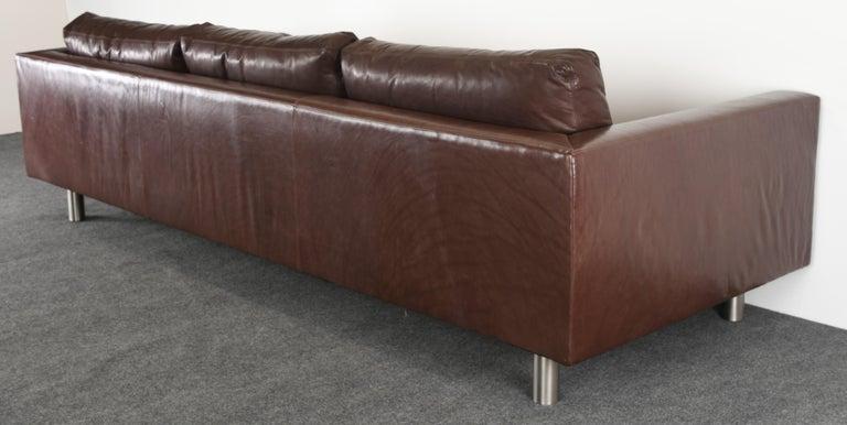 Monumental Metropolis Sofa by Ralph Lauren, 1990s For Sale 9