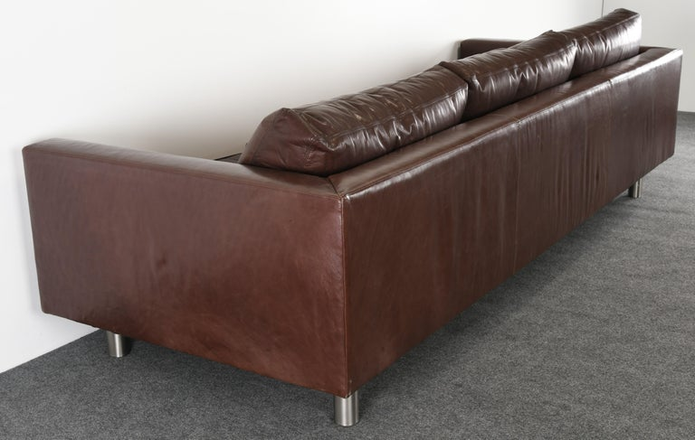 Monumental Metropolis Sofa by Ralph Lauren, 1990s For Sale 10