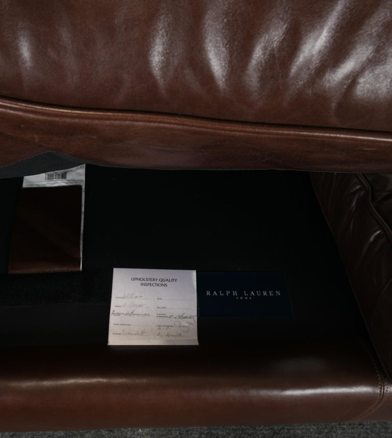 Monumental Metropolis Sofa by Ralph Lauren, 1990s For Sale 11