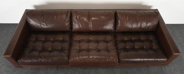 Modern Monumental Metropolis Sofa by Ralph Lauren, 1990s For Sale