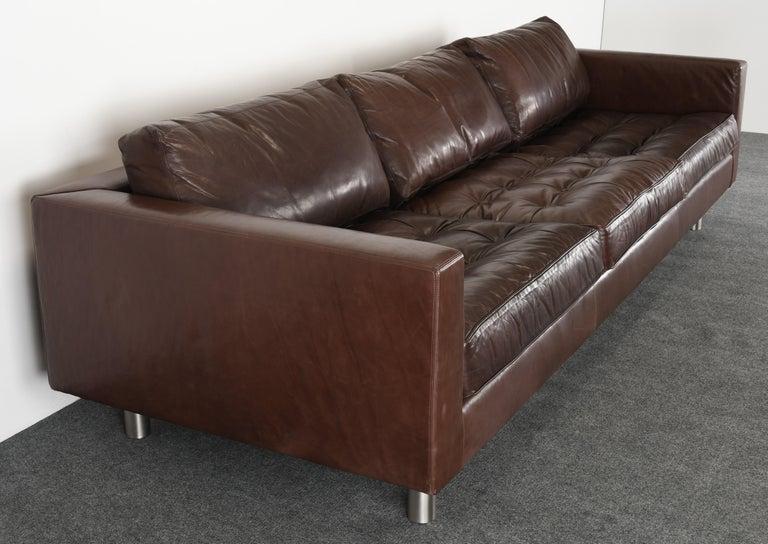 Late 20th Century Monumental Metropolis Sofa by Ralph Lauren, 1990s For Sale