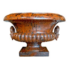 Monumental Mid-20th Century Italian Ceramic Urn