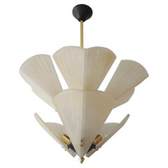 Monumental Mid-Century Modern Chandelier or Pendant Lamp by J.T. Kalmar, 1950s
