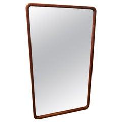 Monumental Mid-Century Modern Walnut Mirror