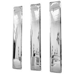 Monumental Mirror Tafla IQ by Zieta Prozessdesign in Stainless Steel