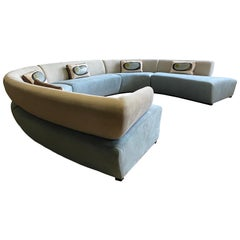 Monumental Modernist or Contemporary 5-Piece Sectional, by Dellarobbia