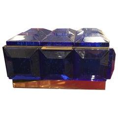 Monumental Murano Glass Box