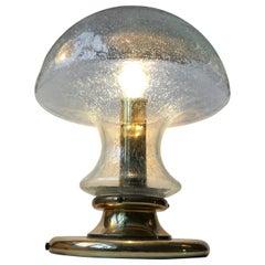 Monumental Mushroom Table Lamp by Jonas Hidle for Høvik Verk, Norway, 1960s