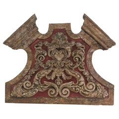 Monumental One of a Kind 19th Century Architectural Fragment Wall Sculpture