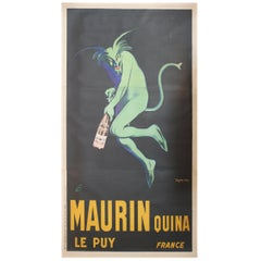Monumental Original French Poster Maurin Quina Ley Puy