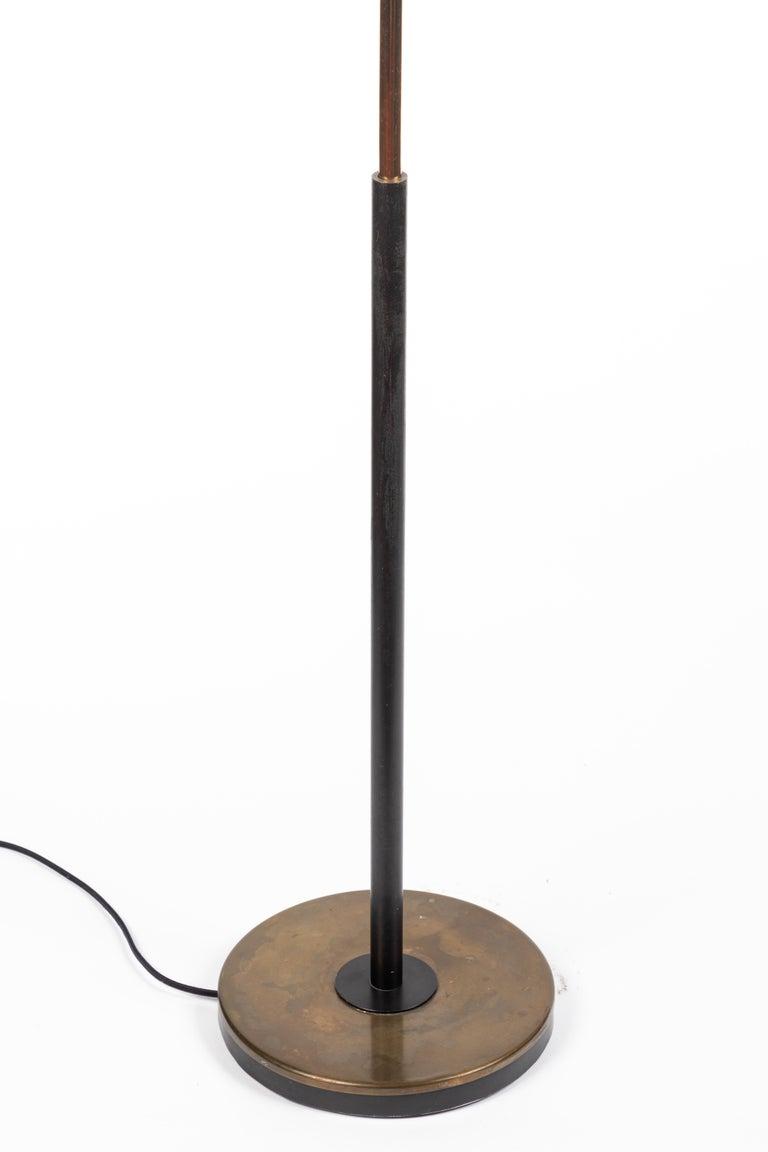 Monumental Oscar Torlasco 3-Cone Floor Lamp for Lumi, circa 1958 For Sale 11
